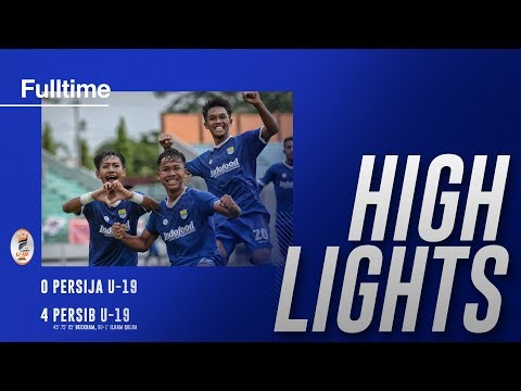 [Highlight] Liga 1 U-19 Persija Vs PERSIB | 7 November 2018