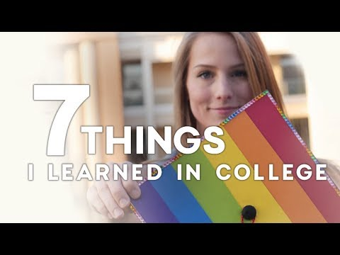 WHAT I LEARNED IN COLLEGE