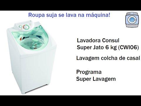 Lavadora Consul Super Jato 6 kg (CWI06) - Colcha de casal