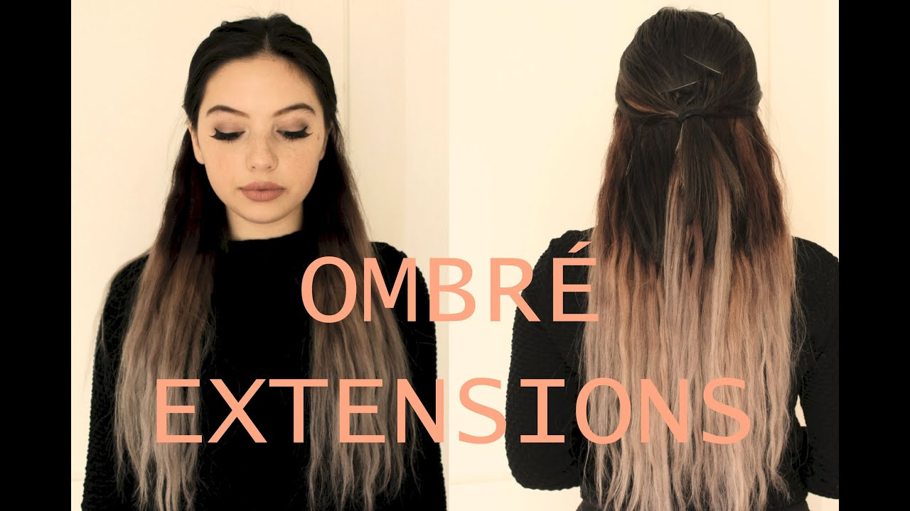 Rose Grey Ombre Hair W Vpfashion Extensions Paolakassa Youtube