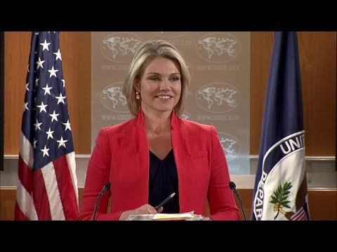 Department Press Briefing - January 4, 2018