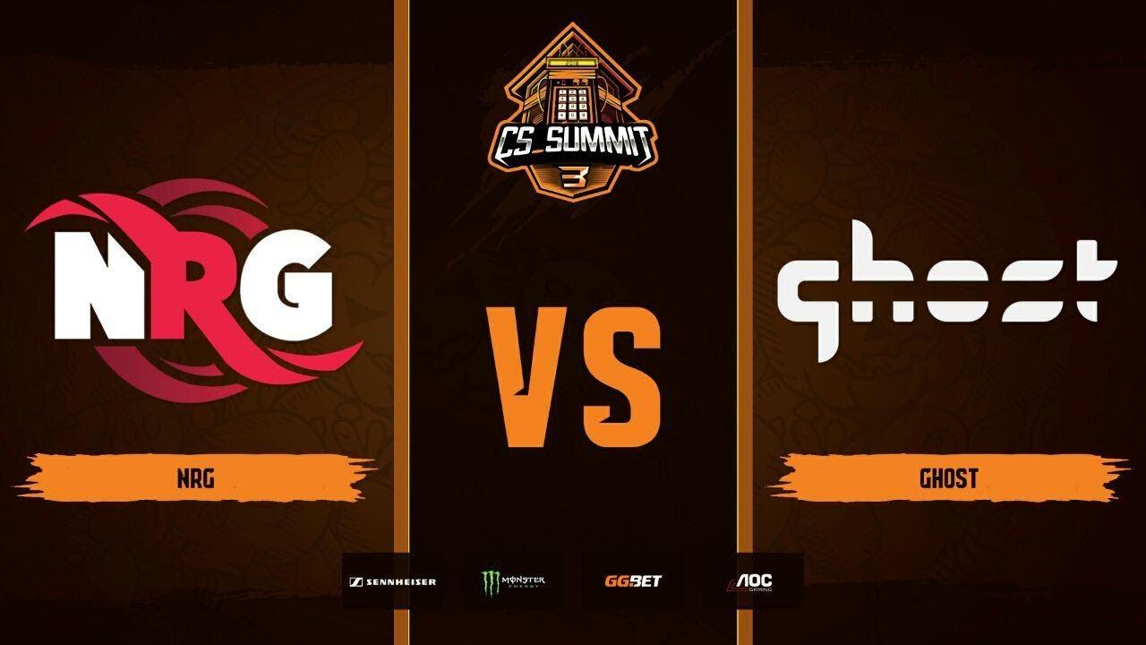 NRG vs Ghost, map 3 nuke, cs_summit 3