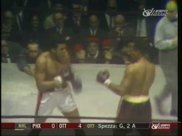 Muhammad Ali vs Zora Folley - March 22, 1967 - Entire fight - Rounds 1 - 7 & Interviews