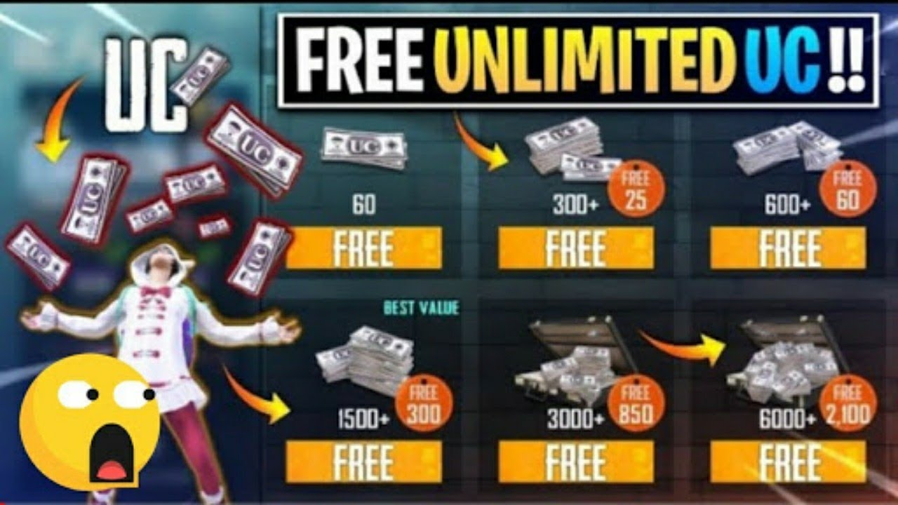 PUBG Mobile Free Uc Trick || 1000 UC Free Everyday New Trick