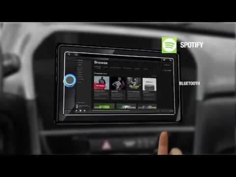suzuki vitara 2015 audiosystem mit navigation und sprac doovi. Black Bedroom Furniture Sets. Home Design Ideas