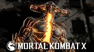 Mortal Kombat X - Corrupted Shinnok Fatality & X-Ray Gameplay (60fps) [1080p] TRUE-HD QUALITY