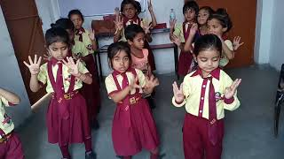 mere papa dancing by play group student of Arundhati International School