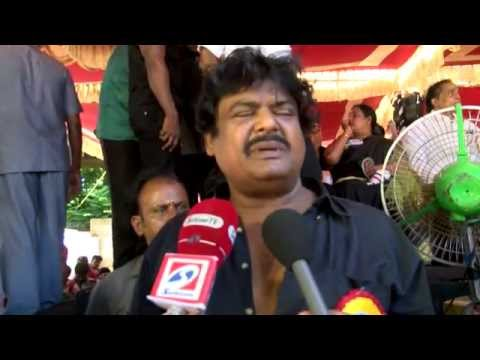 Tamil Cinema Stars Clever Reactions on the Jayalalithaa Wealth Case Judgement  - RedPix24x7  Tamil Nadu continues to be on edge after the arrest of former Chief minister J Jayalalithaa in 18-year-old disproportionate assets case on September 27. The Tamil Nadu film industry will not showcase any movie on Tuesday across theatres in the state to protest Jayalalithaa's sentencing. In order to show their support for Jayalalithaa, members of Tamil Film Exhibitors Association will go on fast on Tuesday. Members of Tamil Film Producers Council (TPFC) and South Indian Artists Association (SIAA) have also backed the hunger strike. In the meantime, Jayalalithaa's bail plea will come up for hearing in Karnataka High Court. She had moved the high court seeking bail and challenging her conviction. Jayalalithaa, her aide Sasikala and two others were found guilty in the 66.65 crore case and fined by the court. While the AIADMK chief was asked to pay Rs 100 crore, the three others were fined Rs 10 crore each. The state witnessed numerous suicide attempts and deaths soon after the judgment. Some reports said that a total of 16 persons had committed suicide or died of cardiac arrest across the state. The AIADMK elected Jayalalithaa's right-hand man O Panneerselvam to take over the reins of the government in her absence. Panneerselvam, who broke down as he took the oath on Monday, made no changes in the portfolios, keeping home, finance and public affairs with himself. This is Panneerselvam's second stint as the CM. In 2001, Jayalalithaa handpicked him to fill her shoes when she was convicted in the TANSI land scam. The trusted Jayalalithaa loyalist refused to sit in her chair saying it belonged to his 'revered' leader.    www.bbc.co.uk/tamil indiaglitz. tamil.oneindia.in  behindwoods.com puthiyathalaimurai.tv VIJAY TV STARVIJAY Vijay Tv  -~-~~-~~~-~~-~- Please watch: