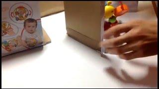 ОБЗОР! Детские развивающие игрушки для моторики рук! Погремушка! заказ через ТAOBAO