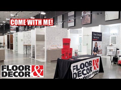 shop with me floor decor new