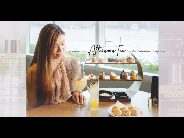 與閨密、媽媽的周末約會:Hue x Aromatherapy Associates下午茶,以香草芳香療癒身心與味蕾
