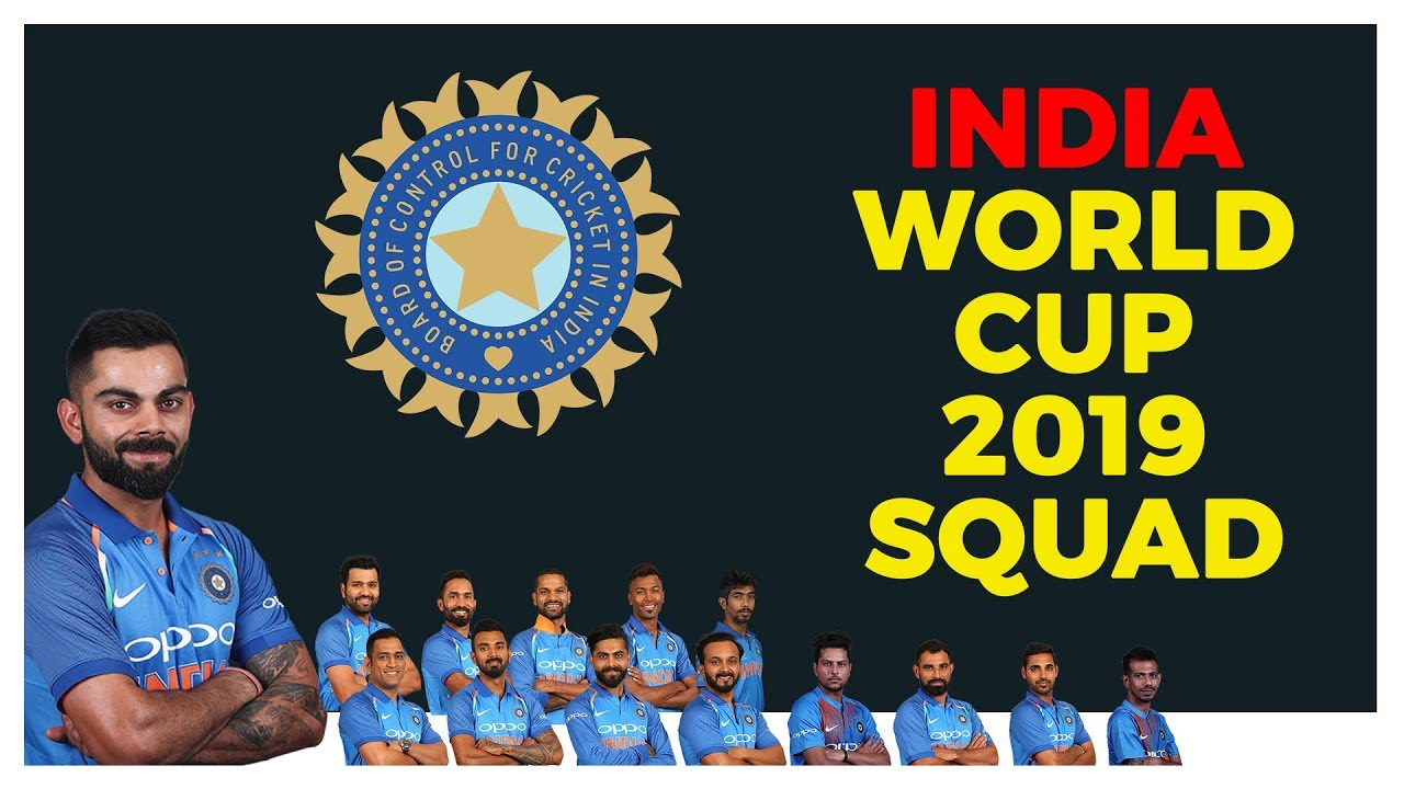 Download India National Cricket Team World Cup 2019 [15 Member Squad]