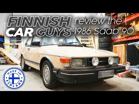 1986 Saab 90 review - made in Finland