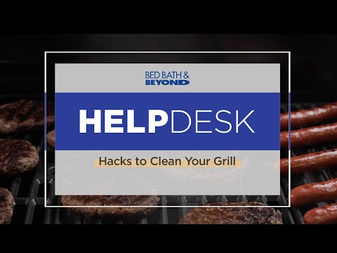 Help Desk: Grill Cleaning Hacks