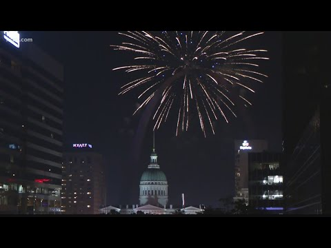 Replay of Fourth of July Fireworks Spectacular in Downtown St. Louis