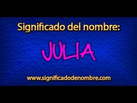Significado de Julia | ¿Qué significa Julia?