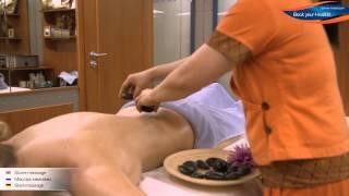 Массаж камнями - Stone massage