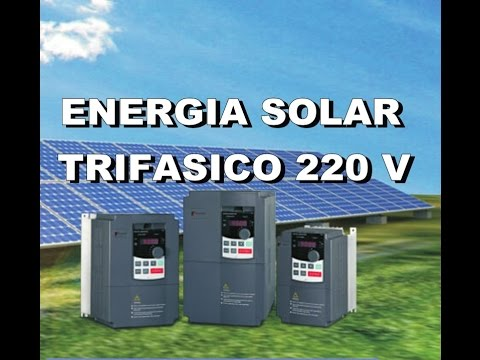 Projeto Energia Solar Trifásico 220 V