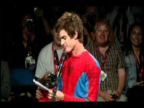 The Amazing Spider-Man - Andrew Garfield panel intro
