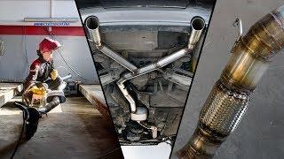Процесс изготовления выхлопной системы для бмв е90 I Manufacturing process of exhaust system for bmw