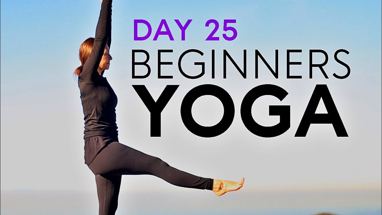 Beginners Yoga For Balance (20 min Flow) Day 25 | Fightmaster Yoga Videos