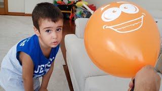 Berat Buğraya Balon Patlatma Şakası Yaptı