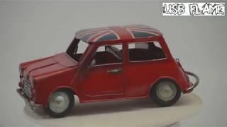 Ретро Автомобил Мини Купър