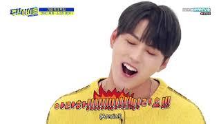 ENGSUB Weekly Idol EP425 Astro, MJ, Rocky, Kim Kook-heon, Song Yuvin