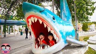หนูยิ้มหนูแย้ม   ผจญภัยดินแดนมหาสนุก YimYam Pretend Play in the Amusement Park