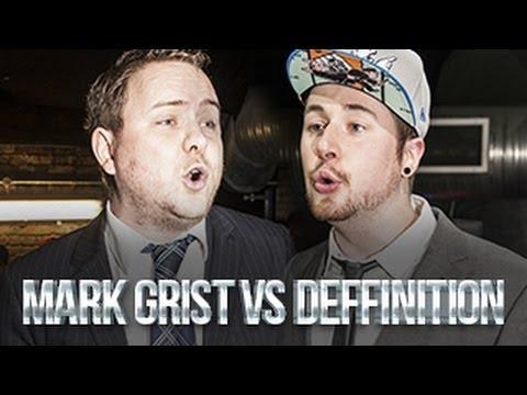 MARK GRIST VS DEFFINITION | Don't Flop Rap Battle