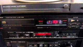 Demonstration of Hitachi Turntable/ Stereo Tape, Amp, tuner and CD.