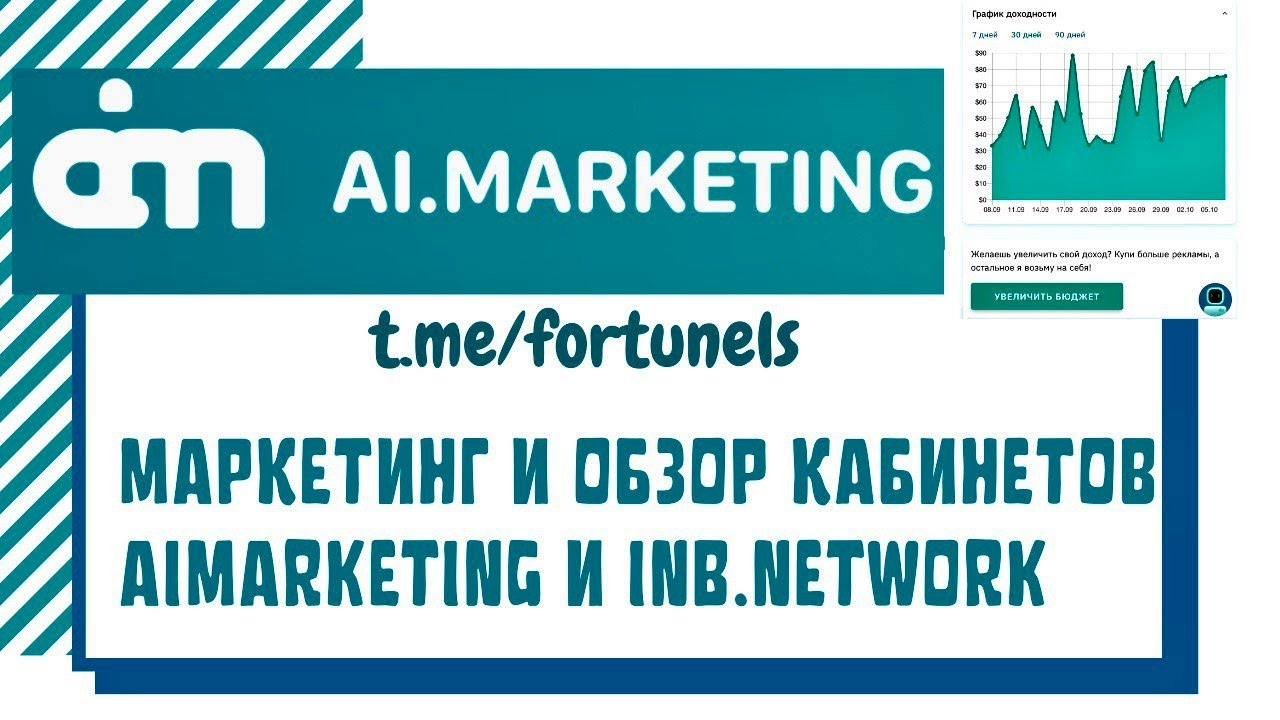 #MarketBot Маркетинг и основные разделы кабинетов Ai и INB