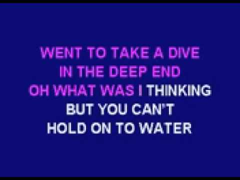 Cheryl Cole The Flood karaoke instrumental with lyrics