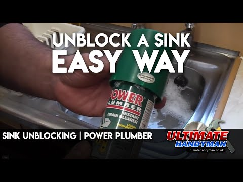 Sink unblocking | Power Plumber
