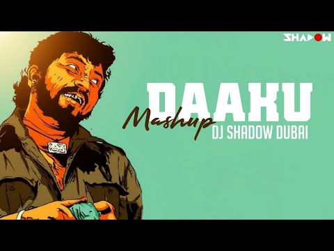 Daaku Mashup | DJ Shadow Dubai | 2017 | Bollywood Iconic Villian Dialogues