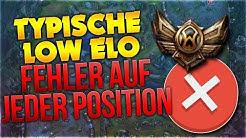 Typische Low Elo Fehler auf JEDER Position! [League of Legends] [Deutsch / German]