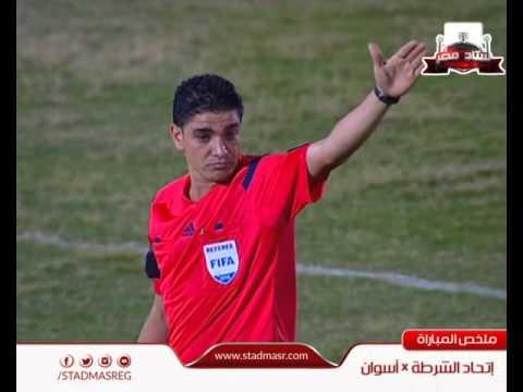 اهداف وملخص مباراة إتحاد الشرطة 2 - 2 أسوان | الدوري المصري