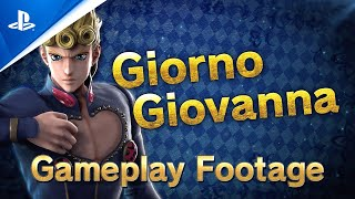 Jump Force - Giorno Giovanna Gameplay Trailer | PS4