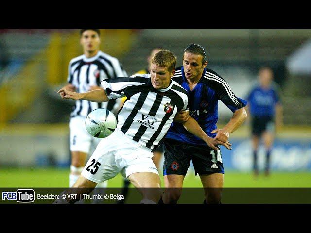 2004-2005 - Champions League - 01. 2de Voorronde - Club Brugge - Lokomotiv Plovdiv 2-0