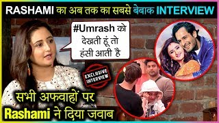 Rashami Desai REACTS On Linkup With Umar & Sidharth | Bond With Asim - Devoleena | Bigg Boss 13
