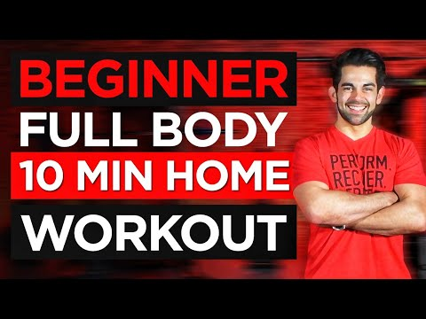 10 Minute Beginner Full Body Workout | 10 MIN Home Workout For Beginners