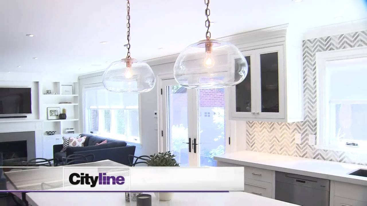 Tour of an open-concept kitchen and family room - YouTube