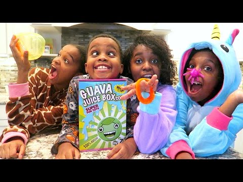 GUAVA JUICE JUICE BOX UNBOXING! - Onyx Adventures