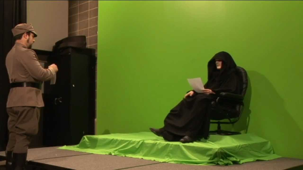 Emperor Green Screen Fail Out Takes Star Wars Fan Film Documentary Youtube