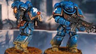 Speed painting Ultramarines