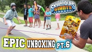 Epic Unboxing of Bouncer (Sling Shot Baseball - Skylanders Giants) Pt.6