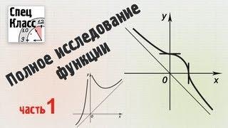 Исследование функции. Найти основные свойства функции