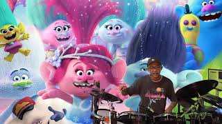 Trolls Holiday Cast - Holiday (Drum Cover by Timothy Liem) (with lyrics)