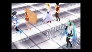 【MMD】 All Vocaloid Dance 【Freely Tomorrow】 【Leon to Mayu】