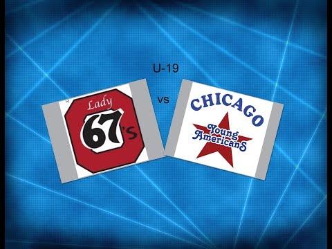 JWHL  Ottawa vs Chicago U-19 2018 ( Rink 8 )